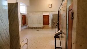Inside the spa area