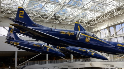 Retired Blue Angels Jets