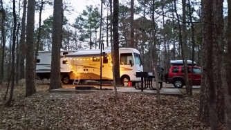 Great Campsite in Arkansas