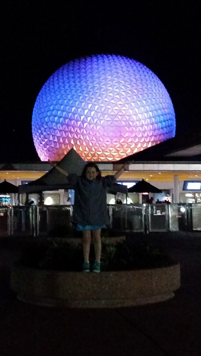 Holding up Epcot