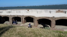 Fort Sumter Canons