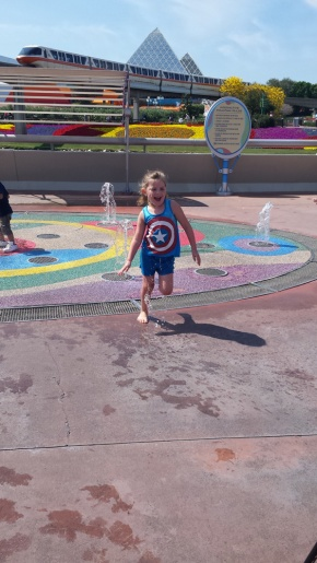 Cooling off at Disney
