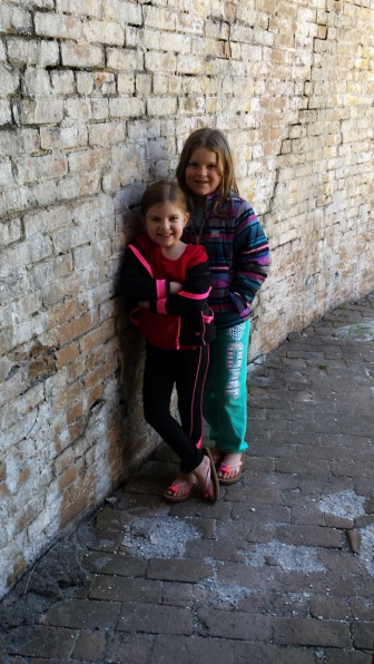 Photo opp at Fort Pickens.