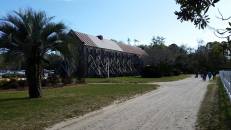 Boone Hall Historic Cotton Gin Building
