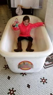 Flat Sammy Takes a Bath