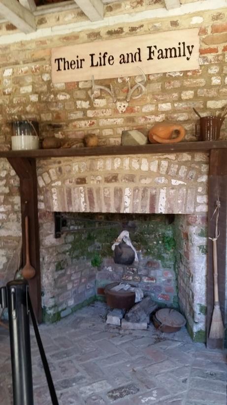Inside a slave house