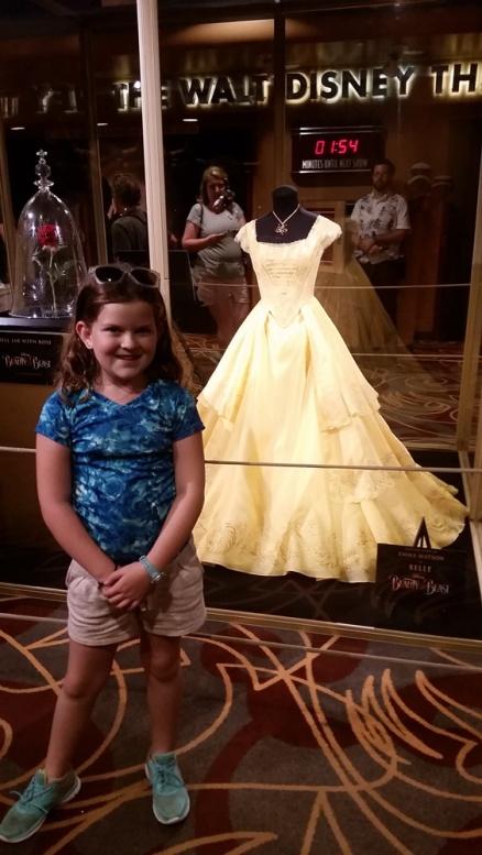 The actual dress.