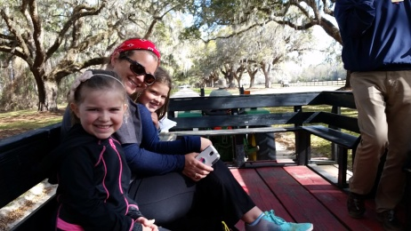 Boone Hall Wagon Tour