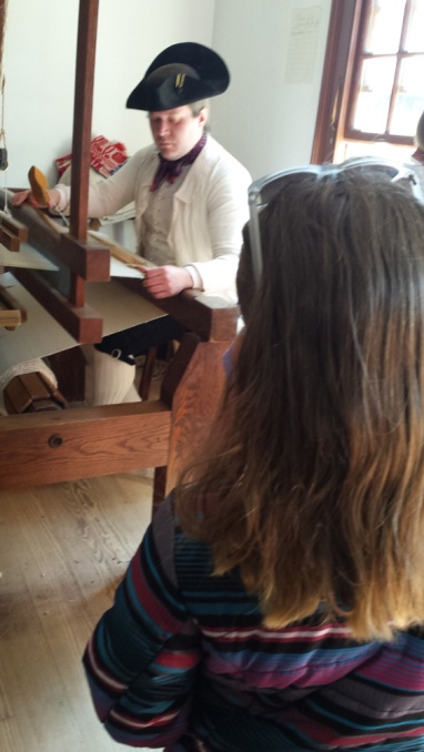 WeavingOnALoom
