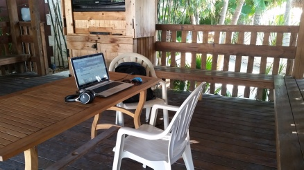 Campground office space