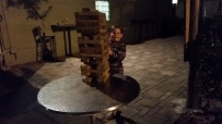Ellie's huge Jenga
