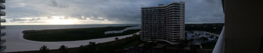 View from the condo