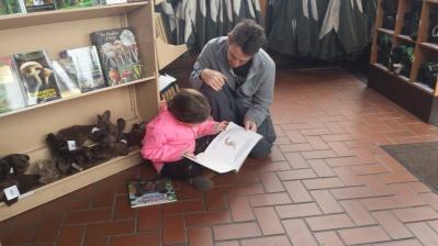 ReadingBooksRangerStation